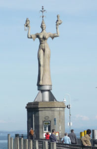 Imperia am Konstanzer Hafen