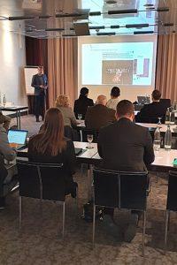 Veranstaltung über Cybersicherheit in München